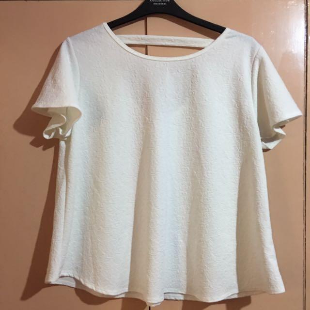 Plus Size White Blouse