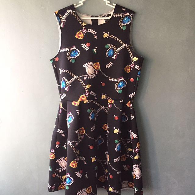 Preloved H & M Semi Formal Dress