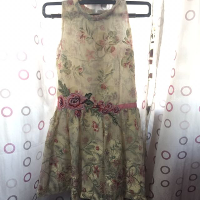REPRICED!! Preloved Peppermint Dress