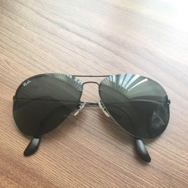 Ray Ban Aviator Sunglasses Black