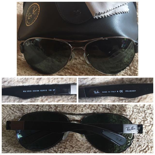 RAYBAN Polarized Sunglasses (RB3509)