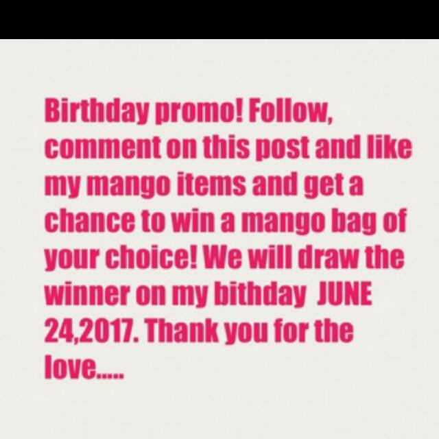 Repost Birthday Promo Giveway