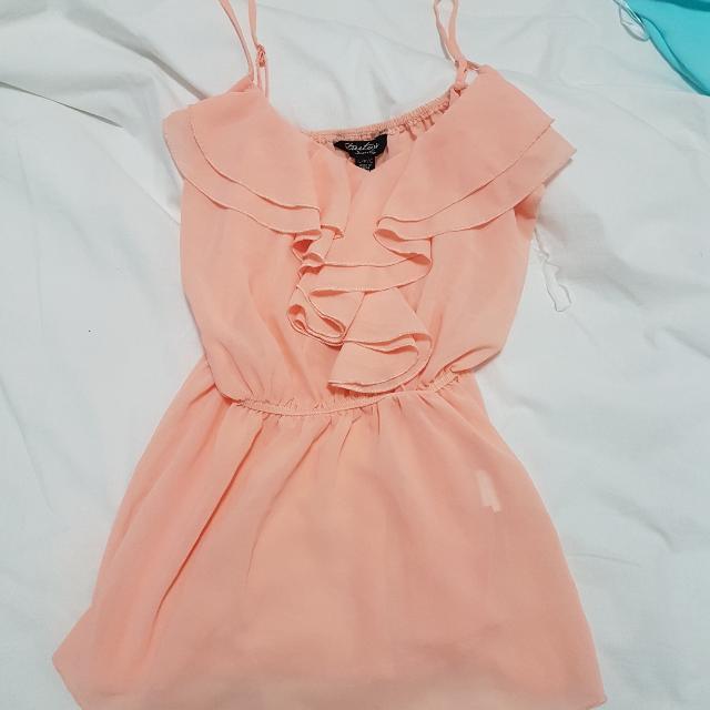 Salmon Coloured Shirt