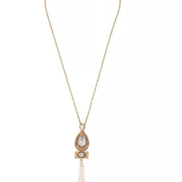Samantha Wills Whisper Sea Pendant Necklace Gold
