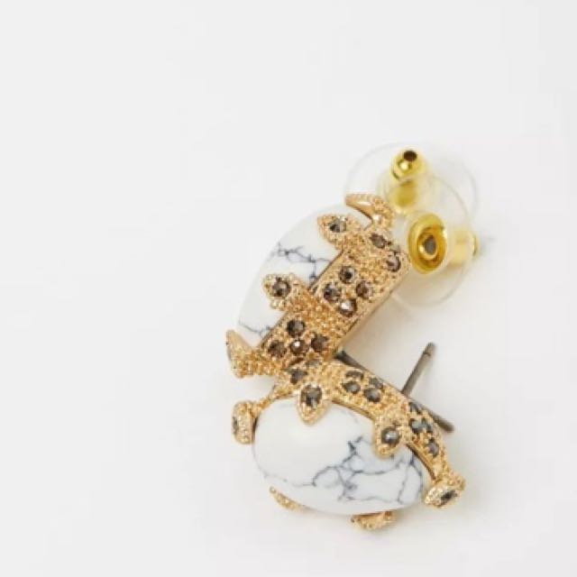 Samantha Wills Whisper Sea Stud Earrings Gold