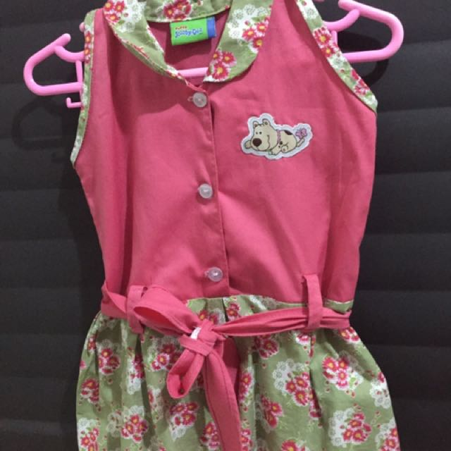 Scooby Doo Pink and Floral Dress