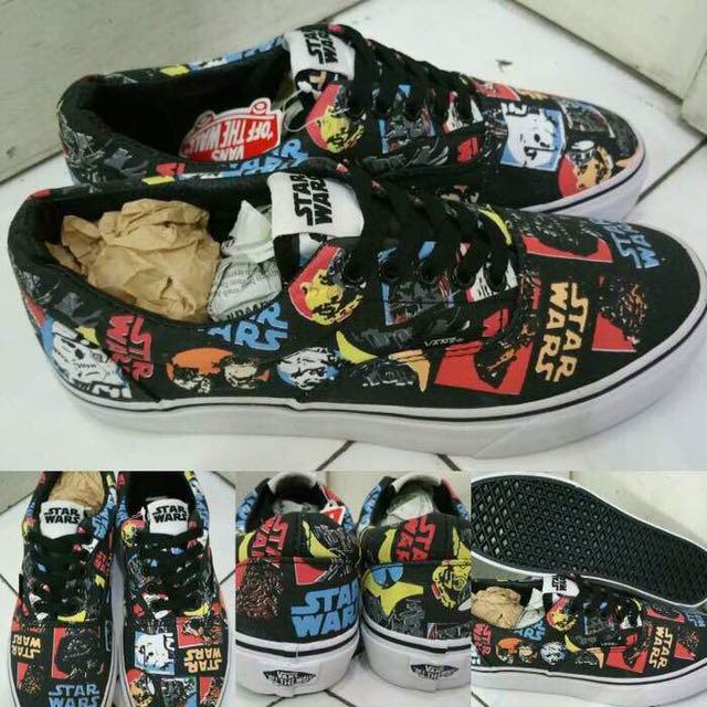 343002dfb3b761 Sepatu Vans Era Star Wars Classic Repeat