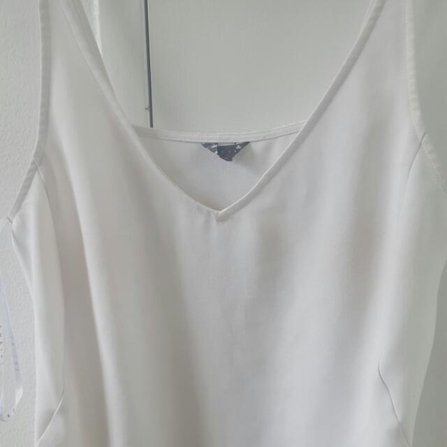 Sheike White Singlet Size 10