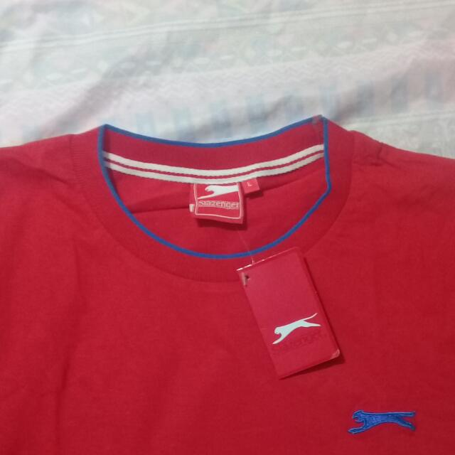 Slazenger Red Shirt for Men