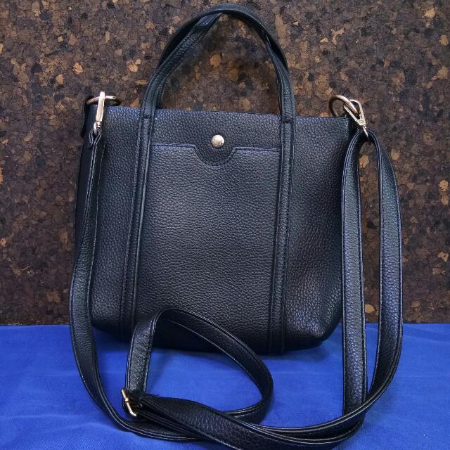 Small Black Shoulder Bag