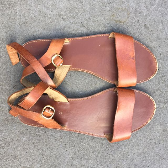 Tan Windsor Smith Sandals - size 9