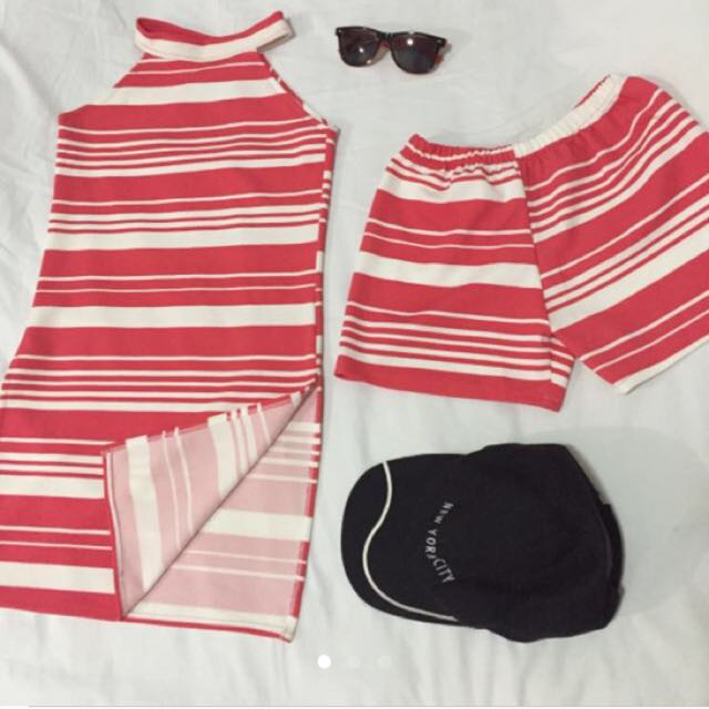 Terno Pink Stripes