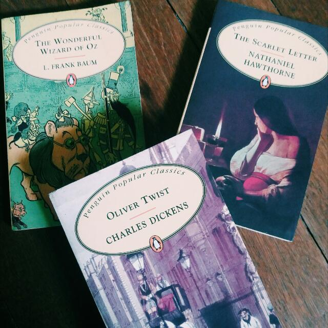 The Classics Package: Oliver Twist/The Wonderful Wizard of Oz/The Scarlet Letter