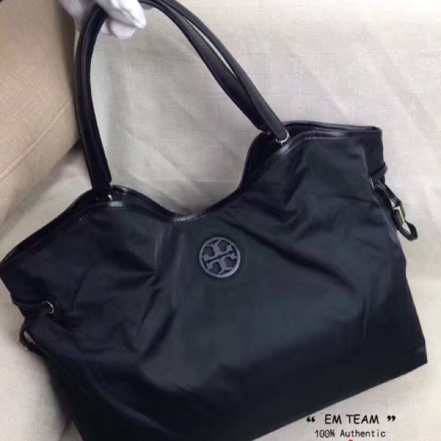 4c6dff60fa91 Tory Burch Nylon Slouchy Tote