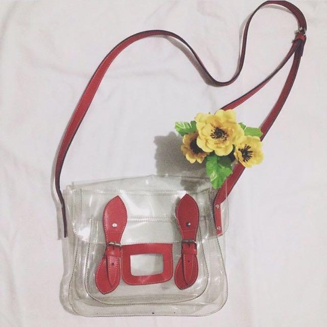 Transparent Satchel Bag