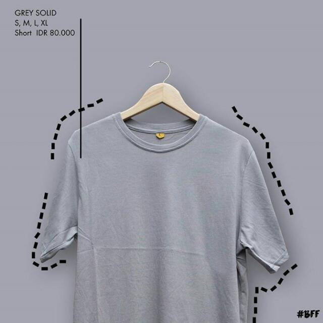 T-Shirt/Grey Solid