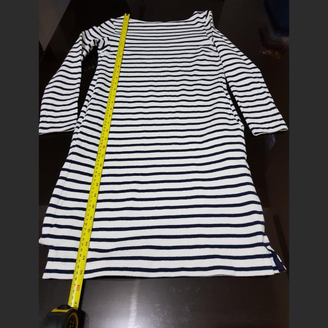 Uniqlo Stripe Fitted Dress-repriced