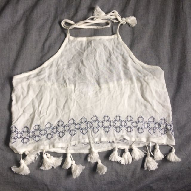 Urban outfitters Festival Crop