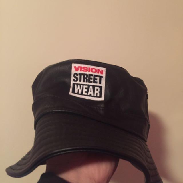Vision Street Wear - Leather Bucket Hat