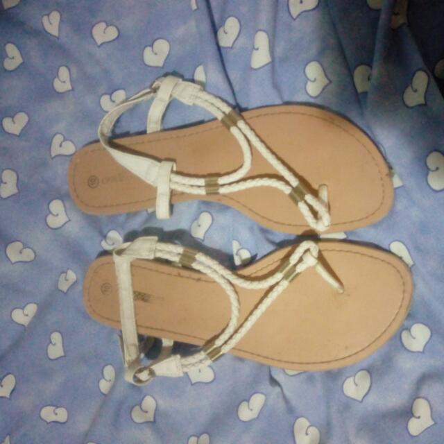White Sandle Shoes