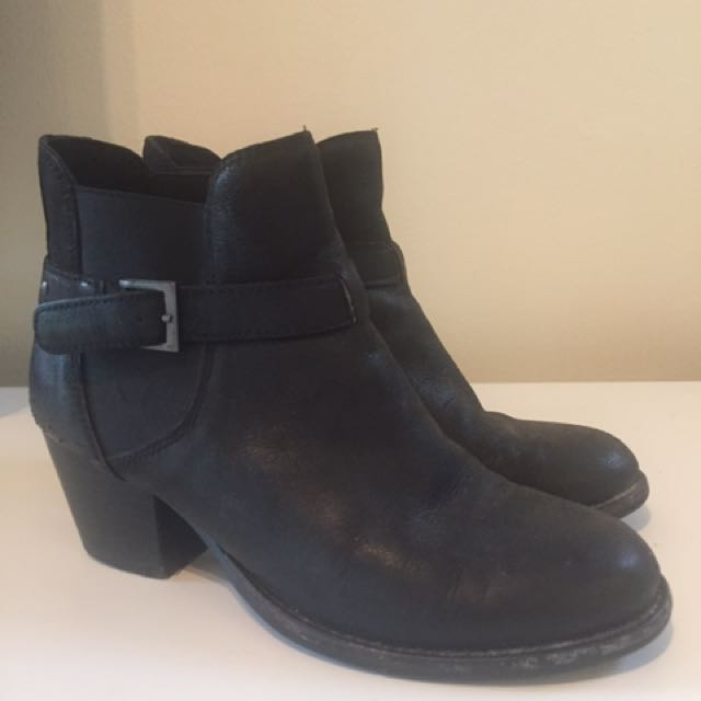 Witchery Leather Booties