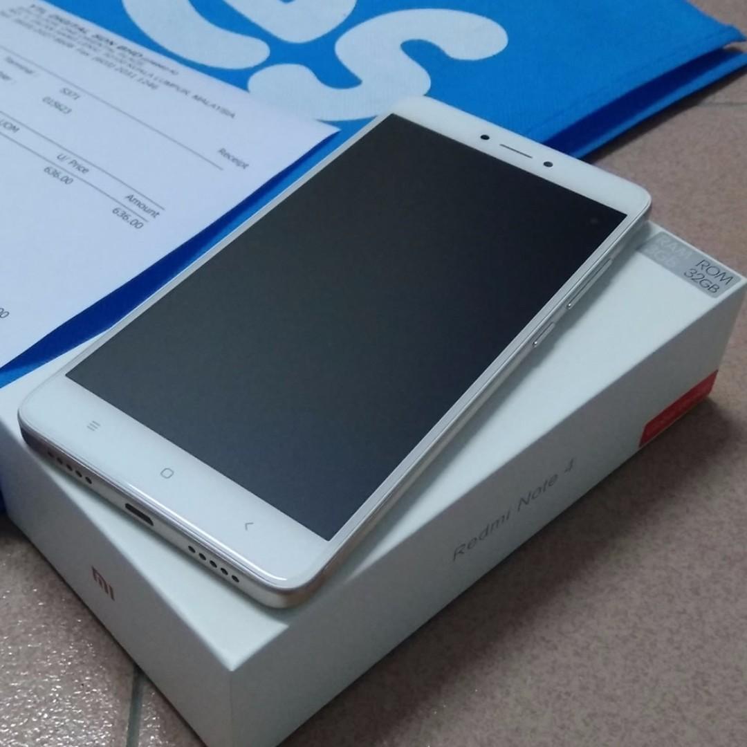 Xiaomi Redmi Note 4 32gb 3gb Mobiles Tablets Android Phones Mi 4c White Photo