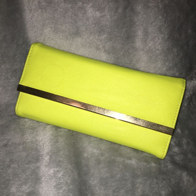 Yellow Clutch/Purse