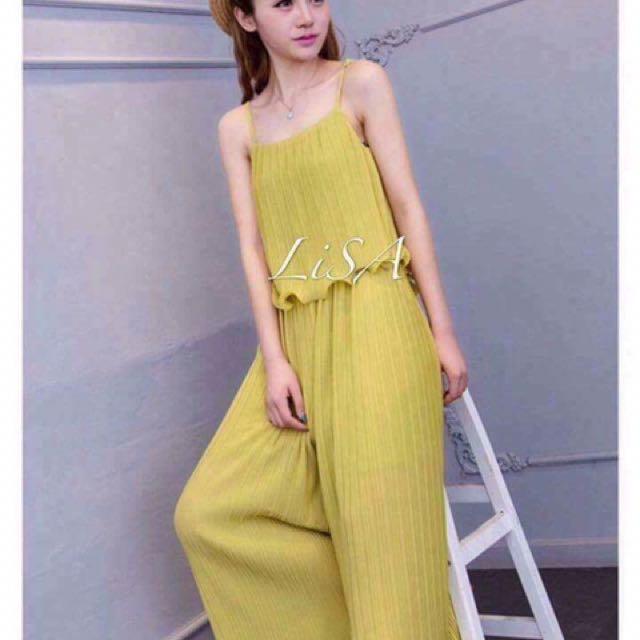 Yellow Romper/Jumpsuit
