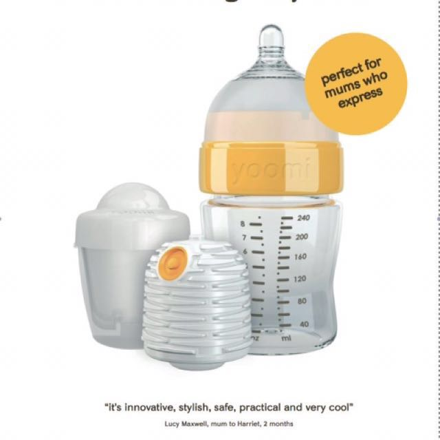 yoomi feeding bottle system