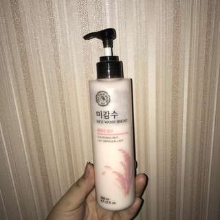 The Face Shop: Rice Water Bright Cleansing Milk - Make Up Remover