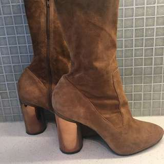Aldo Tan Suede Boots