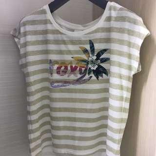全新Roxy上衣 T恤 香港代購