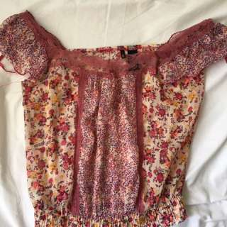 Light Flower Blouse