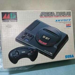 Sega MD 原裝 8成新 日本貨 二手