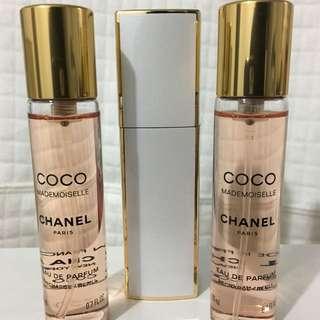 Coco Mademoiselle - Twist and Spray Eau De Parfum 3x20ml