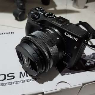 [SECOND] Canon EOS M3 kit 15-45mm