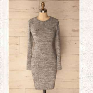 Grey dress (Size Small)