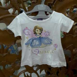 Original Cool Baby White Sofia Shirt Size 12 - 18 Months