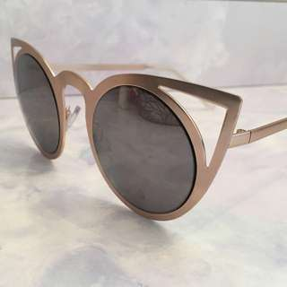 Cat Eye Cut Out Sunglasses