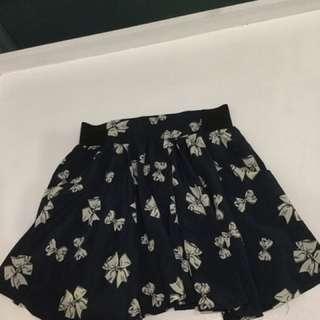 Ribbon Mini Skirt