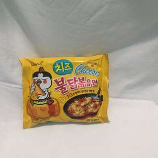 FIRE NOODLE CHALLENGE (CHEESE)