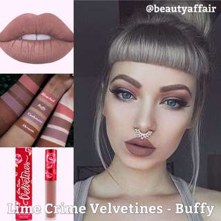 ♠️ READY STOCK ♠️ Lime Crime Velvetines - Buffy