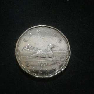 1990 Canada Dollar