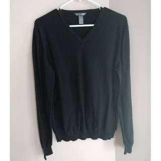 Black H&M V-neck Sweater - Size Small