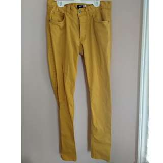 Yellow Pants from H&M - Size Small: 30/30