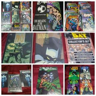 Batman Supetman Starwars ... Comics