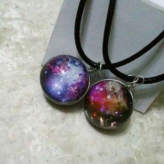 Galaxy Globe Necklaces