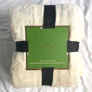 BN Kate Spade King Size Fleece Blanket