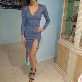 Blue Longsleeve Dress Sz 6