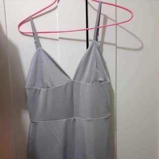 Grey Midi Dress Sz10